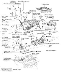 where are the knock sensors located on a 99 lexus es300 where graphic