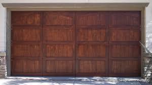 semi custom wood garage doors ca garage door installation newport beach