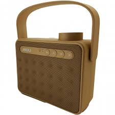 portable outdoor speakers. sansui portable outdoor wireless handle dual subwoofers ay827 bluetooth speaker-gold speakers