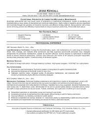 Cover Letter For Maintenance Manager Service Project Manager Resume