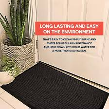 2 pack indoor outdoor mat for home office rv and more