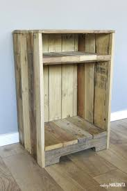 furniture making ideas. Astonishing Pallet Wood Side Table With Rustic Style Making Manzanita Of Wooden Furniture Inspiration And Ideas