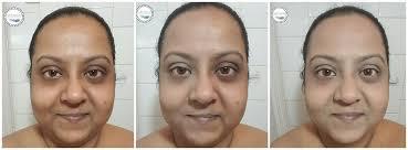 far left no makeup center make up for ever step 1 skin equalizer mattifying ultra hd foundation in y355 neutral beige