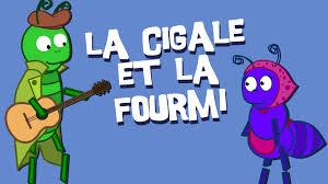 La Cigale Et La Fourmi Version Moderne Fables De La Fontaine