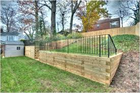 landscape timbers retaining wall timber retaining wall for your springs landscape using landscape timbers for retaining