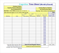 22 Employee Timesheet Templates Free Sample Example Format Excel