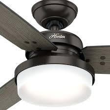 hunter 52 inch ceiling fan hunter three light fresh white light