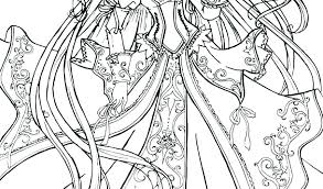My Little Pony Coloring Pages Princess Celestia And Luna Princess