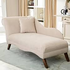grandiose beige fabric upholstery chaise lounge with wooden base on grey rugs as custom bedroom chairs ideas also white dresser cabinets bedroom decors