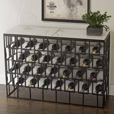 Wine storage table Wooden Marble Console 28 Bottle Floor Wine Rack Wayfair Sofa Table With Wine Storage Wayfair