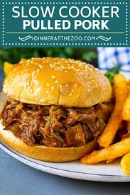 slow cooker pulled pork dinner at the zoo