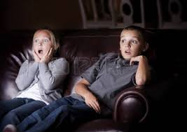kids watching tv at night. watching tv night: children shocking television programming kids at night t
