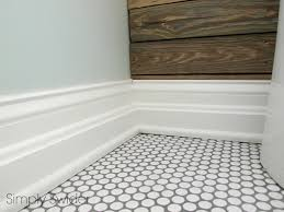 White penny tile bathroom floor tile flooring ideas bathroom tile simple penny  tile bathroom floor modern
