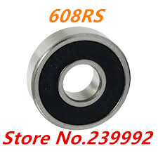 608rs bearing. 10 pcs 608 2rs bearing abec-5 8x22x7 mm skateboard ball bearings 608rs emq z3v3 608rs n