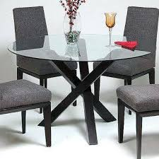 outstanding dining table glass top round glass dining table best glass top dining table ideas on