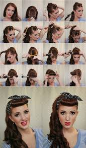 17 ways to make the vine hairstyles