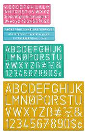Stencil Letters Amazon Com Westcott Letter Stenciling Guides 4 Sizes Letter