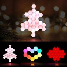 Shades Of Light Online Coupon Code Lifesmart Creative Geometry Assembly Smart Control Home Panel Light Night Lamp