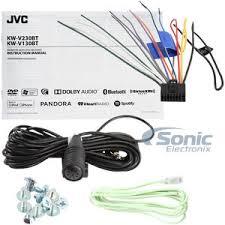 jvc kw v130bt double din bluetooth® in dash dvd cd am fm car stereo product jvc kw v130bt newest version of kwv 120bt