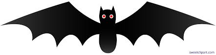 black bat clipart. Exellent Bat Halloween Black Bat 1 Clipart Intended A