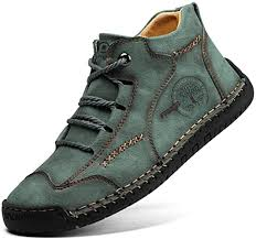 Pumoes <b>Mens</b> Casual <b>Shoes</b> Loafers <b>Flat Shoes</b> Vintage Hand ...