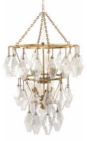 hutton adeline small round chandelier gold leaf