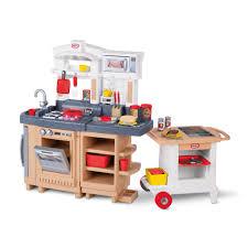 Little Tikes Outdoor Kitchen Little Tikes Cook Around Kitchen Cart Reviews Wayfair
