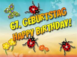 67 Geburtstag Glückwünsche Und Sprüche