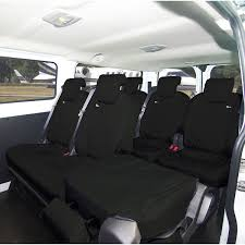 van seat cover rear folding black ford transit custom torneo kombi crew 2016 onwards