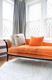 Burnt Orange Furniture Orange Is The New Black Living Room Chaise Gray Curtains Windows Burnt Furniture