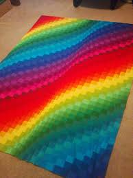 Lets Quilt Something: Rainbow Bargello - Jelly Roll Kona Roll Up ... & Here is a quick weekend quilt top you can make fast, easy, that looks like  you spent weeks on. This would also make a great gift since it is holiday  season ... Adamdwight.com