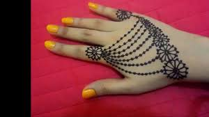 Simple And Easy Henna Designs For Hands Easy Diy Best And Beautiful Hand Jewellery Henna Mehndi