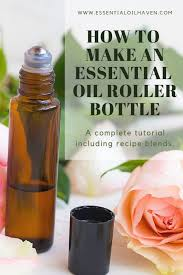 How To Make An Essential Oil Roller Bottle Easy Diy Roll
