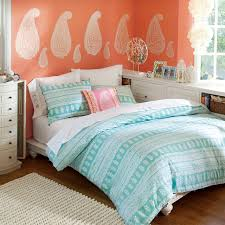teen bedroom ideas teal and white. Teal And Orange Bedroom Ideas Teen White N