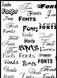 Fonts For Tattoos Simple Graffiti Fonts Tattoos Designs