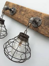 Rustic Bathroom Vanity Lights
