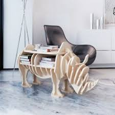 rhino office furniture. Image Is Loading Innovative-Wooden-Rhino-Home-Decor-Shelf-Book-Organize- Rhino Office Furniture