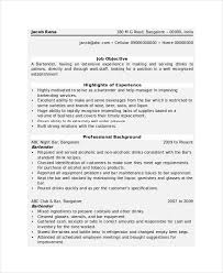 Gallery Of Best Restaurant Bartender Resume Example Livecareer 16