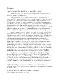 solutions homeless essay homelessness arrest warrant
