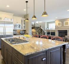 Kitchen Islands With Stove Hanging Lights Kitchen Islands For Large Space With Simple Stove