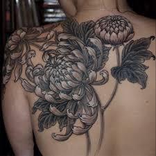 хризантемы тату значение значение татуировки хризантема тату