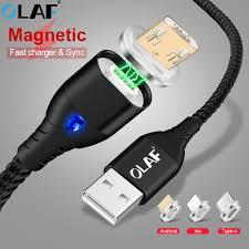 Câble USB magnétique <b>OLAF</b> pour iPhone XS <b>Type C</b> chargeur ...