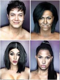 paolo ballesteros this guy can look like any female celebrity just with adequate makeup