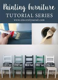 Painting Furniture Tutorial Series