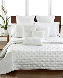 hotel collection finest silk king coverlet white   bedrooms