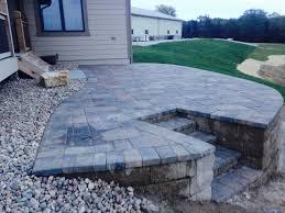 raised paver patio. Fine Patio 0 On Raised Paver Patio T