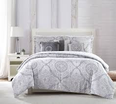 piece delia gray white blue comforter set and grey polka dot bla full size