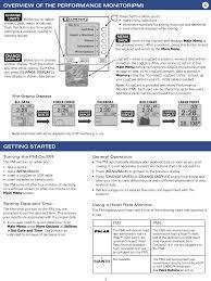 Pm4 Rowing Machine Performance Monitor User Manual