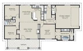 Three Bedroom Cottage House Plan   Small House Plans Under Sq        Three Bedroom Cottage House Plan   Bedroom Bath House Plans