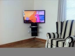 corner tv wall mount wall mounted tv